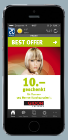 Couponing heute: BEST OFFER Mobile-Coupon von Factum.