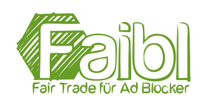 Faibl (Fair Trade für Ad Blocker) - Logo